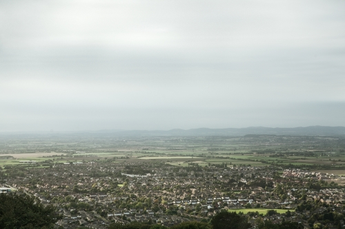 A scenic view of Cheltenham Race Course