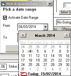 SPB System Builder Date Range